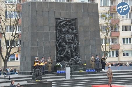 Dzień Pamięci o Holokauście i przeciwdziałaniu zbrodniom przeciwko ludzkości.