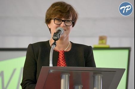 Minister edukacji narodowej na IX Kongresie Zarządzania Oświatą.