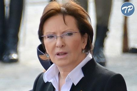 Premier Ewa Kopacz na uroczystości z okazji Dnia Edukacji Narodowej.