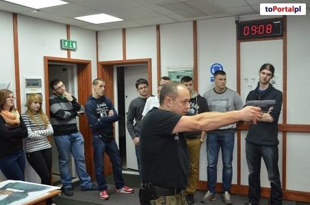 Studenci Państwowej Wyższej Szkoły Zawodowej w Raciborzu z wizytą w ŚMOSG.