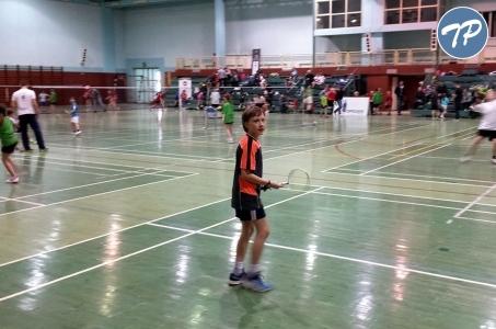 Badmintoniści z ZSOMS na Opolskim Turnieju Dzieci i Żaków w Głubczycach.