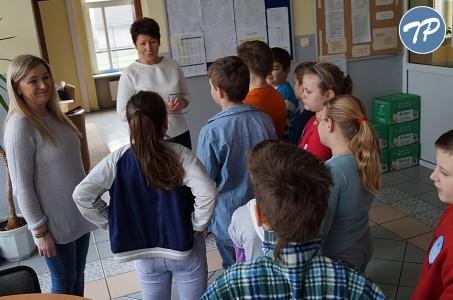 Trzecioklasiści zachwyceni szkołą w Nędzy.
